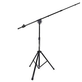 """Lyxpro Smt-1 Professional Microphone Stand Heavy Duty 93"""" Studio Overhead Boom Stand 76"""" Extra Long Telescoping Arm Mount, Foldable Tripod Legs &Amp; Adjustable Counterweight"""