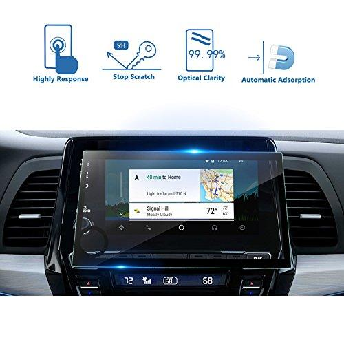 Lfotpp 2018 2019 Odyssey Ex Ex-L Touring 8 Inch Car Navigation Screen Protector, Tempered Glass Infotainment Display In-Dash Touch Protective Film Scratch-Resistant