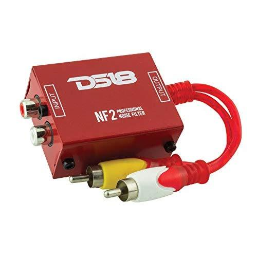 DS18 NF2 Professional Noise Filter, Ground Loop Isolator for Car Audio Systems. Eliminates and Stops The Hum Noise!