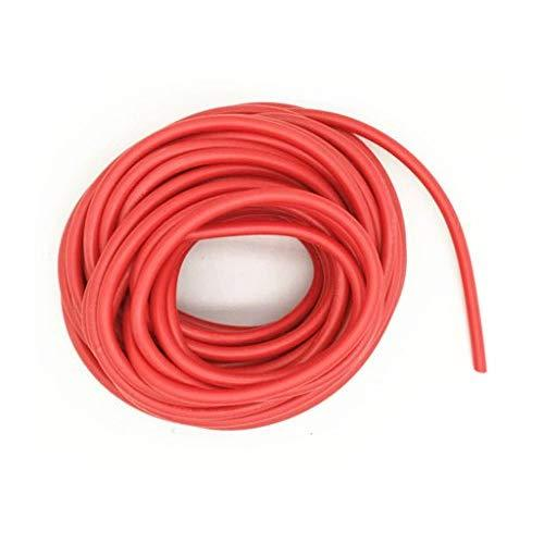 XJS Electric Copper Core Flexible Silicone Wire Cable Red (14AWG 30KV) (5M)