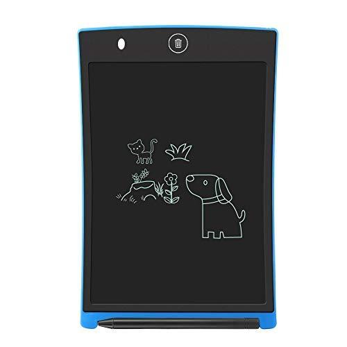 """LCD Writing Tablet,Electronic Writing ;Drawing Board Doodle Board,Sunany 8.5"""" Handwriting Paper Drawing Tablet Gift for Kids and Adults at Home,School and Office, Blue"""