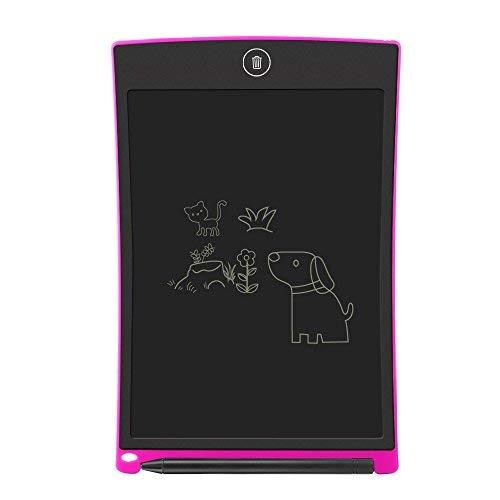 """LCD Writing Tablet,Electronic Writing ;Drawing Board Doodle Board,Sunany 8.5"""" Handwriting Paper Drawing Tablet Gift for Kids and Adults at Home,School and Office (Pink)"""