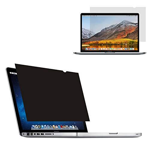 Accgonon Laptop Privacy Screen Protectors Filter,Compatible 12-Inch Macbook(2015-2017 Model A1534),Anti-Glare Anti-Spy Anti-Blue Scratch And Uv Protection,Easy Install