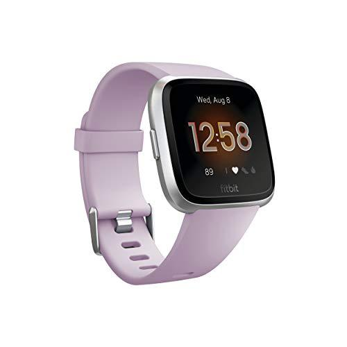 Fitbit Versa Lite Edition Smart Watch, 1 Count (S &Amp; L Bands Included)