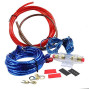 16 Gauge Car Amp Wiring Kit -Welugnal A Car Amplifier Install subwoofer Wire Wiring Kits Helps You Make Connections and Brings Power to Your Radio, Subwoofers and Speakers Amp Power Wire