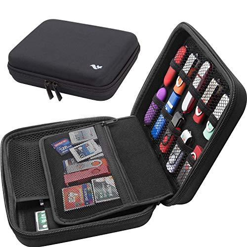 Large Capacity Memory Card SD Card Case/USB Flash Drive Storage Holder/External Hard Drive Case/Universial Electronic Accessories Organizer