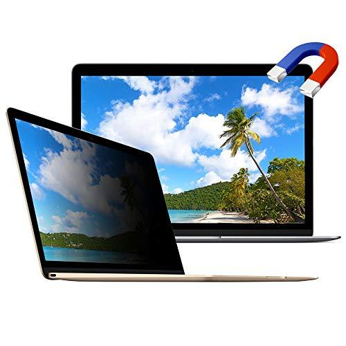 Magnetic Privacy Screen Protector For Macbook 12 Inch Magnetic For Model A1534 -Easy On/Off
