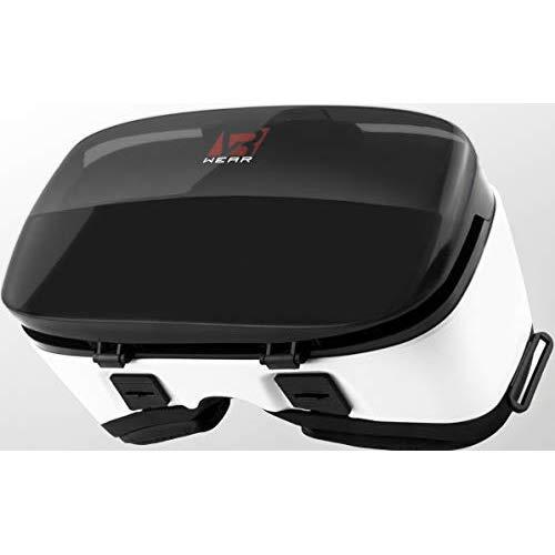 """Vr Wear Virtual Reality Headset, Goggles Gear, Google - 3D Vr Glasses Vr 3D Box For Any Phone (Iphone 6/7/8/Plus/X & S6/S7/S8/S9/Plus/Note And All Android Smartphone) With 4.5-6.5"""" Screen"""