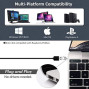 USB Computer Microphone with Mute Button,Plug;Play Condenser,Desktop, PC, Laptop, Mac, PS4 Mic LED Indicator -360 Gooseneck Design -Recording, Dictation, YouTube, Gaming, Streaming (Omnidirectional)