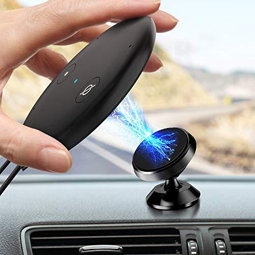 2019 New Echo Input Auto Car Mount Bracket Holder, Wassers Universal Magnetic Absorption Automatic Mount Holder Compatible With Echo Input - Black ...