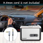 Cassette Player, IKEDON Walkman Cassette Player Captures MP3 Audio Music Via USB, Tape Player with Headphones for Laptop PC and Mac
