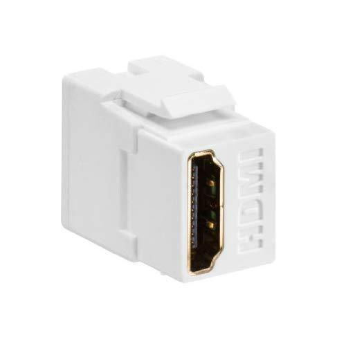 Snap In Hdmi Coupler White