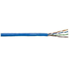 Cat5E 24G Direct Burial Cable 1000' Reel Black
