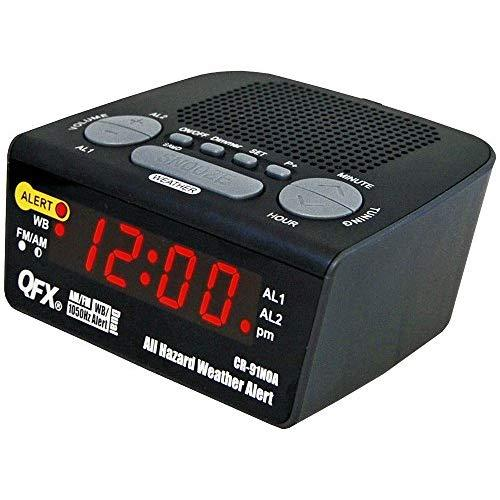 Weather Alert Clock Radio