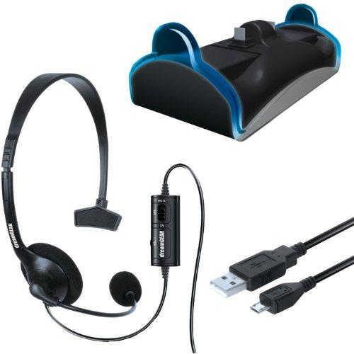 Ps4 Charge And Headset Kit
