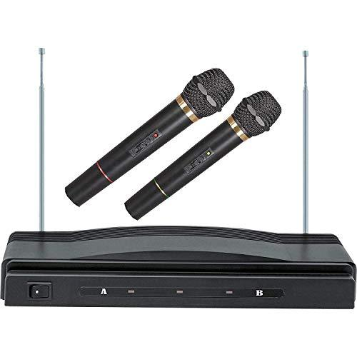 Dual Wireless Handheld Microphone System