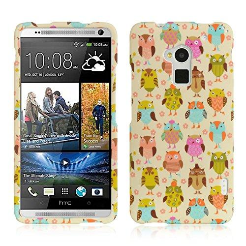 Htc One Max/T6 Crystal Rubber Case Fancy Owl-Crhtct6Fanowl