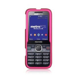 Huawei M570/Verge Rubber Case  Hot Pink