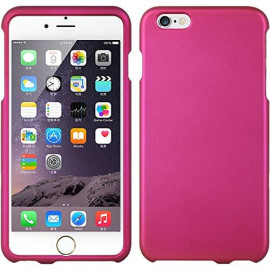 Apple Iphone 6 Plus Crystal Rubber Case Hot Pink-Crip6Lhp