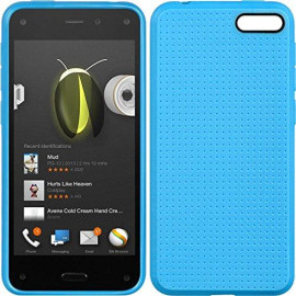 Electroeshop Fire Phone Tpu Case With Dots Blue