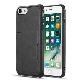 The Infinity Series Tpu Back Cover Case For Iphone 8 / 7 / 6 (Combo Piece) - Black