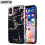 Luxmo Premium Marblicious Collection Marble Shine Design Uv  Coated Tpu Case For Iphone Xs Max - Black Rose Marble
