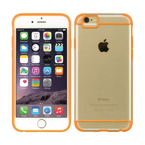 For Iphone 6 / 6S Fusion Candy Tpu W/ Tinted Pc - Orange