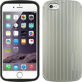 Apple Iphone 6/6S (4.7) Fusion Case Tpu Embed Erected Strip-Ftcip6Essl