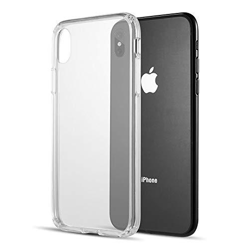 Fusion Candy Tpu With Clear Acrylic Back Plate For Iphone     Xs Max - Clear