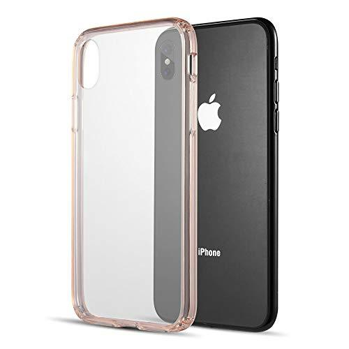 Fusion Candy Tpu With Clear Acrylic Back Plate For Iphone     Xs Max - Pink