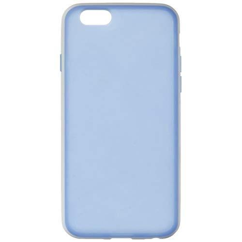 Apple Iphone 6/6S Crystal Skin Case Tinted Blue And White-Hefogip6Blwt