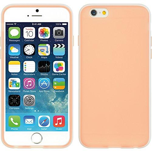 Apple Iphone 6/6S Crystal Skin Case Tinted Pink And White-Hefogip6Pkwt