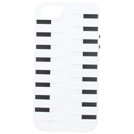 High End Apple Iphone 5 / 5S / Se Hybrids Hb154 Gray Skin+White Rubber Case-Hescrip5Hb154Gy/Wt