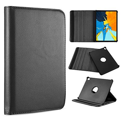 For Apple Ipad Pro 12.9(2018) Rotation Stand Tablet Folio   Cover - Black