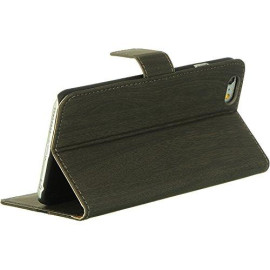 Apple Iphone 6 Plus Pouch W/ Card Slots Wood Natural-Lpfip6Lcswncg