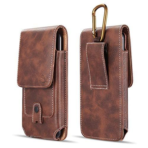 Luxmo #27 For Iphone 5.5 / Samsung I717 Vertical Universal   Leather Pouch - Brown