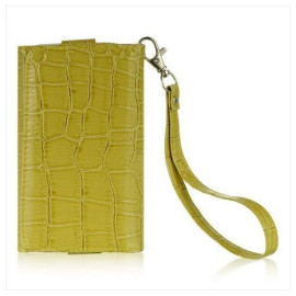 Universal 4 To 5 Inches Wallet Pouch Green Croco-Lpu5Wpgrcc