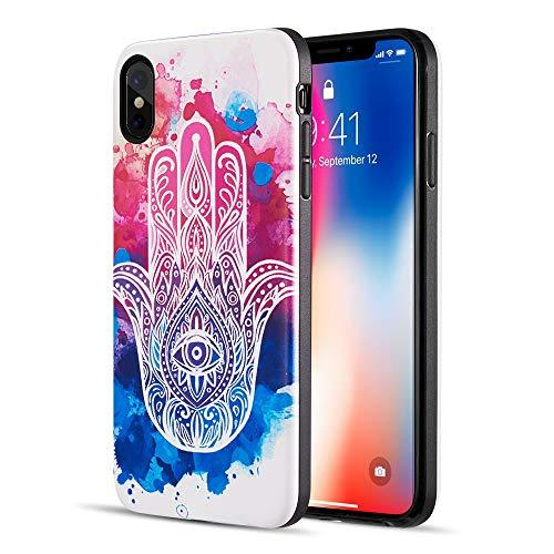 The Art Pop Series 3D Embossed Printing Hybrid Case For       Iphone Xs Max - Design 010