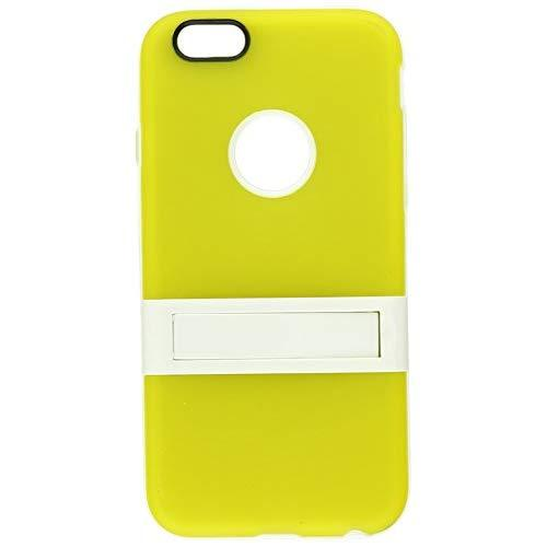 Apple Iphone 6/6S (4.7) Hybrid Case W/ Stand Tinted Yellow-Tcaip6Stdylwt
