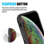 The Splash Ink Luggage Hybrid Protection Case For Iphone Xs  Max - Black