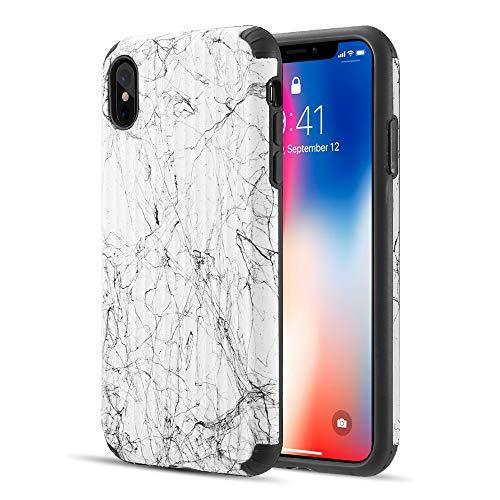 The Splash Ink Luggage Hybrid Protection Case For Iphone Xs  Max Plus - White