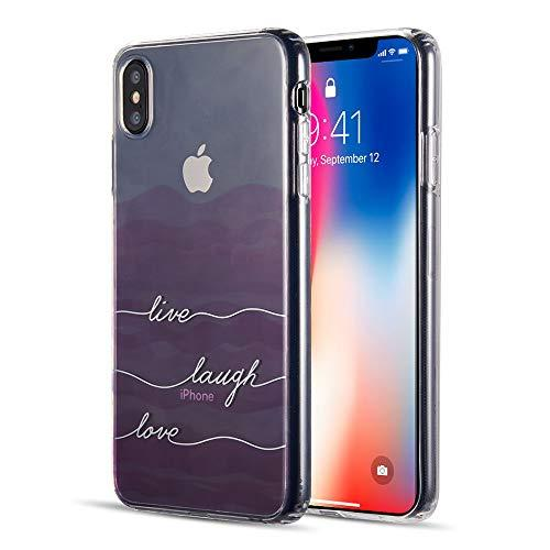 The Water Color Imd Tpu Case For Iphone Xs Max - Live Laugh Love