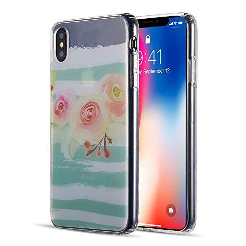 The Water Color Imd Tpu Case For Iphone Xs Max - Peach       Blossom
