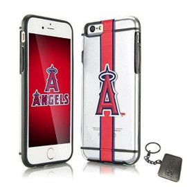 Los Angeles Angels Hydroclear Ultra-Slim 3D Uv Print For Iphone 6S / 6 Textured Smu Case