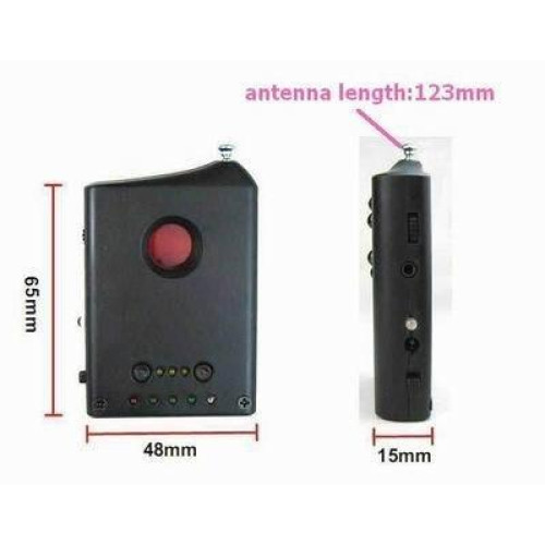 Finds Both Wired And Wireless Cameras; Lightweight And Portable Wide Frequency Detection; From 1Mhz To 6500Mhz Beep