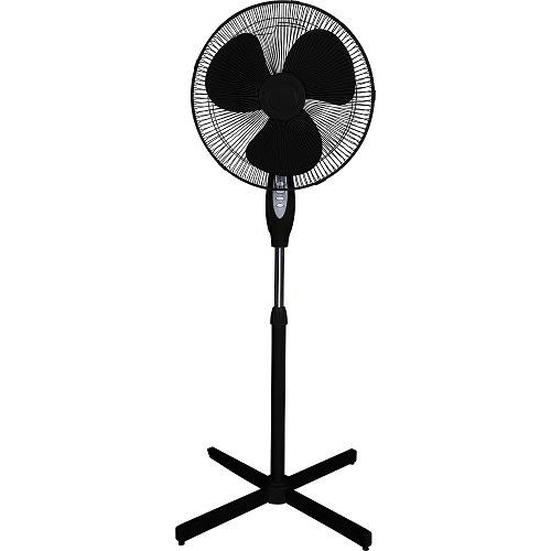 Optimus F1650Wh White 16 Inch Oscillating Stand Fan