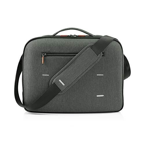 13IN LAPTOP BRIEFCASE GRY