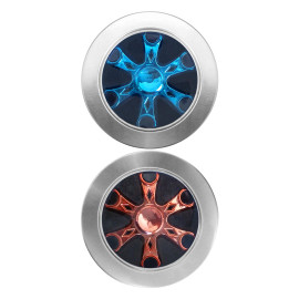 Hexagon-Vane Fidget Spinner, Durable Stainless Steel Bearing, 3-5Min Spin Time, Help To Improves Attention, Behavior Regulation, Emotional Control, Memory, Organizational Skills, Reduces Stress And Anxiety.
