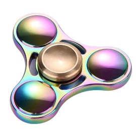 EDC Triangle Fidget Spinner, Durable Stainless Steel Bearing, 3-5Min Spin time, help to improves attention, behavior regulation, emotional control, memory, organizational skills, Reduces stress and anxiety.