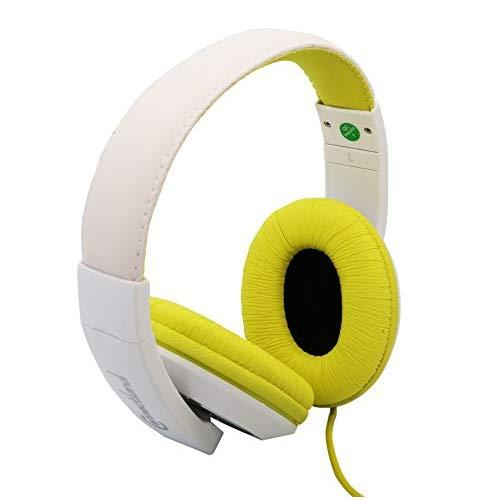 Fashionable Stereo Headset, Lime Green Color, Adjustable Size